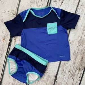 Patagonia baby rash guard Boys Swimsuit trunks